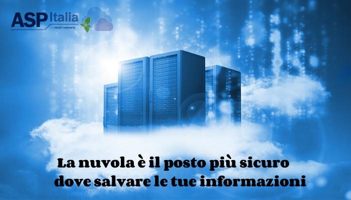 La Nuvola è Il Posto Più Sicuro Dove Salvare Le Tue Informazioni