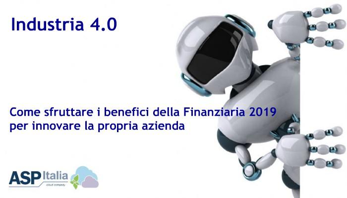 Industria 4.0: Il 2019 Sarà L'anno Della Svolta Per Le PMI.