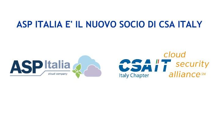 Asp Italia è Il Nuovo Socio Di CSA Italy