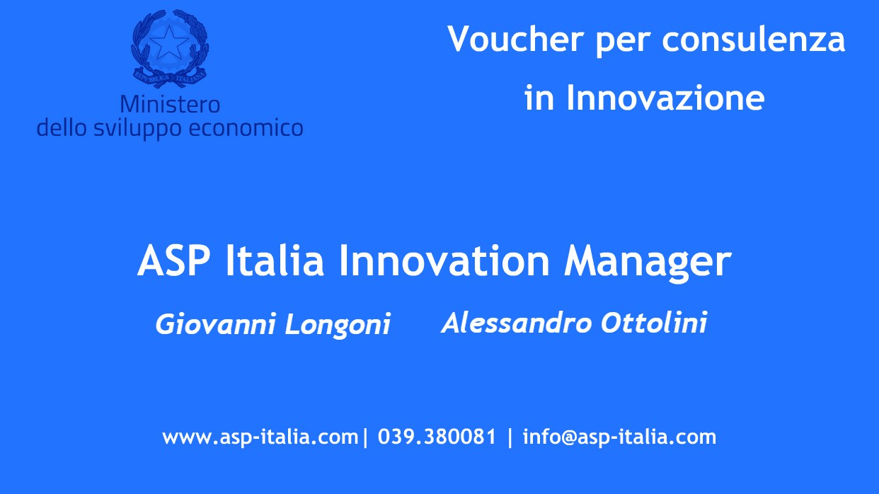 Voucher Innovation Manager