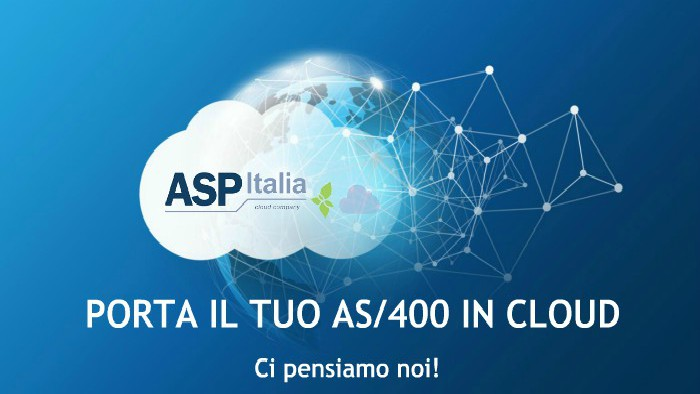 Porta Il Tuo AS400 / IBM I In Cloud