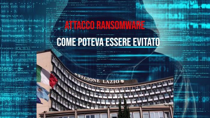 Attacco Ransomware Alla Regione Lazio