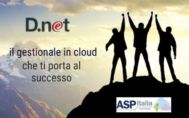 D.net Il Gestionale In Cloud Che Ti Porta Al Successo
